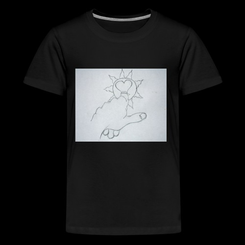 Heart of the Sun - Kids' Premium T-Shirt