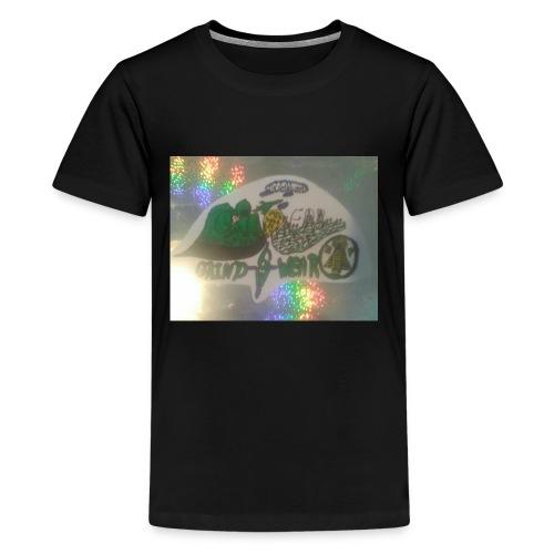 HOLOGRAM GRINDWEAR LOGO(BY MR.239) - Kids' Premium T-Shirt