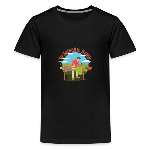 Sustainable Hemp - Kids' Premium T-Shirt
