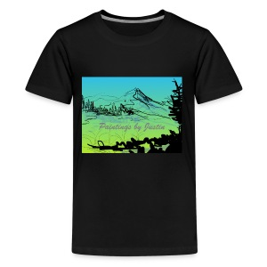 Paintings by Justin color - Kids' Premium T-Shirt