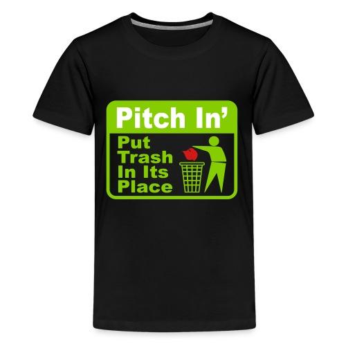 Trash MAGA - Kids' Premium T-Shirt