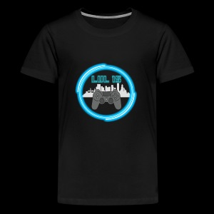 LVL15 CityscapeNeon - Kids' Premium T-Shirt