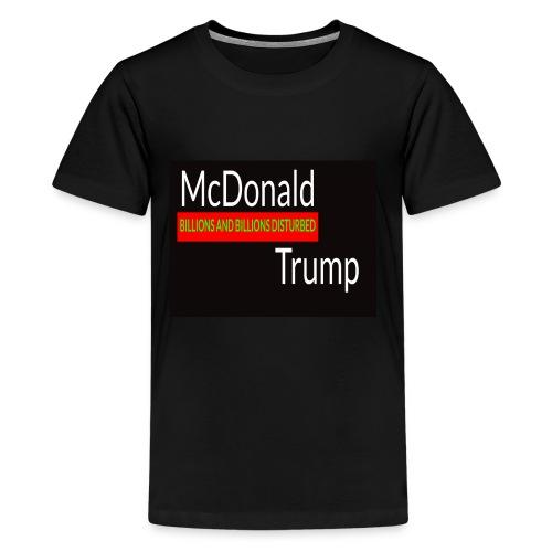 Donald Trump - McDonald Trump - Kids' Premium T-Shirt