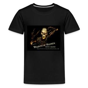 Mayhem Skeleton - Kids' Premium T-Shirt
