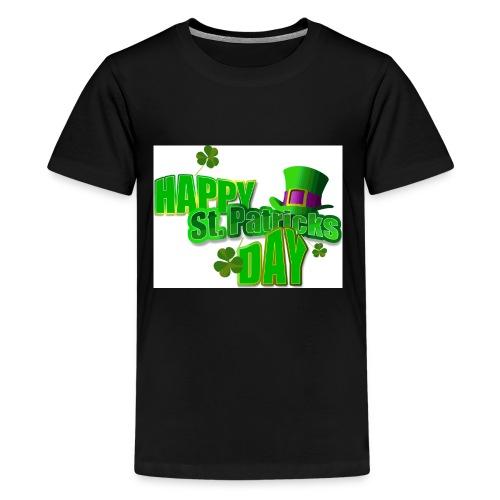 saint patrick day merch - Kids' Premium T-Shirt