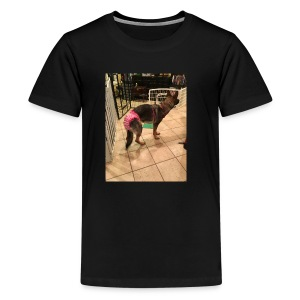 violet in underwear - Kids' Premium T-Shirt
