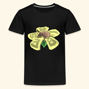 Vibes Flower by GVD - Kids' Premium T-Shirt