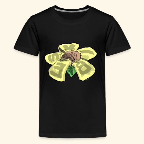 Vibes Flower by GVD - Kids' Premium T-Shirt
