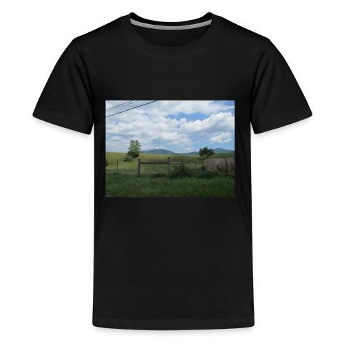IMG 0109lonely field but beautiful - Kids' Premium T-Shirt