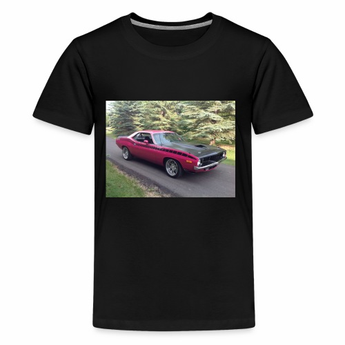 Plymouth 'Cuda 440+6 Pak 4-Speed - Kids' Premium T-Shirt