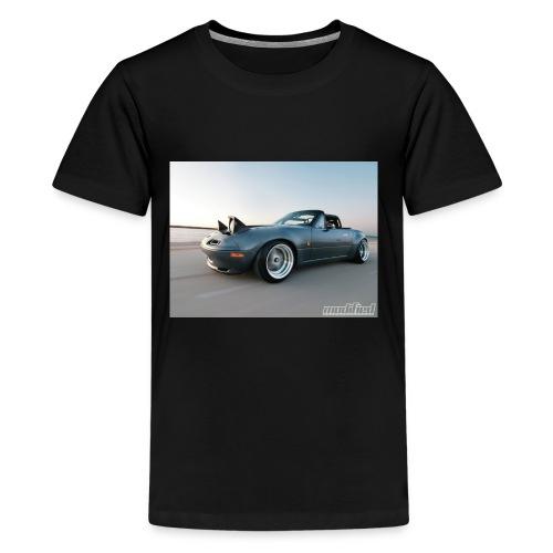 modp 1204 06 1990 mazda mx5 miata full view - Kids' Premium T-Shirt