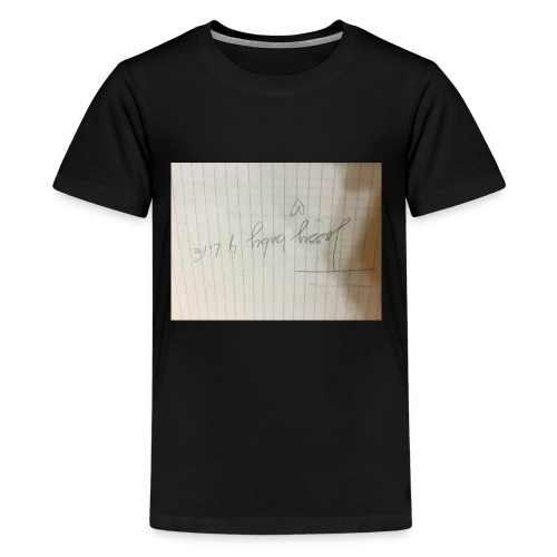 This is important for my fans in musically - Kids' Premium T-Shirt