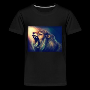 Lion Hoodie - Kids' Premium T-Shirt