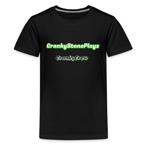 crankystoneplayz - Kids' Premium T-Shirt