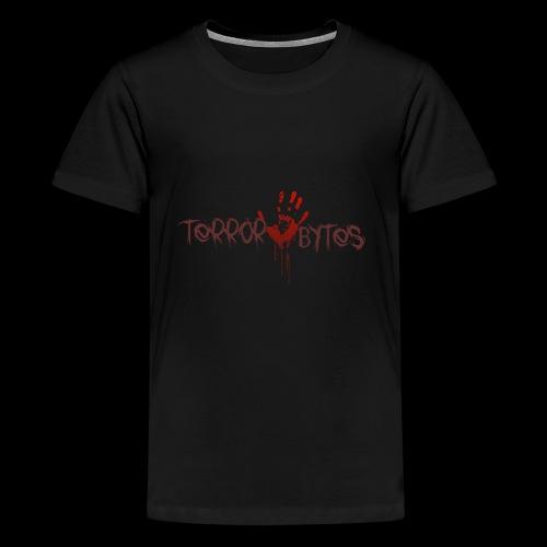 Terror-Bytes Blood Hand - Kids' Premium T-Shirt
