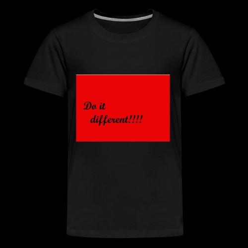 do it different - Kids' Premium T-Shirt