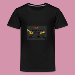 trucks and boys - Kids' Premium T-Shirt