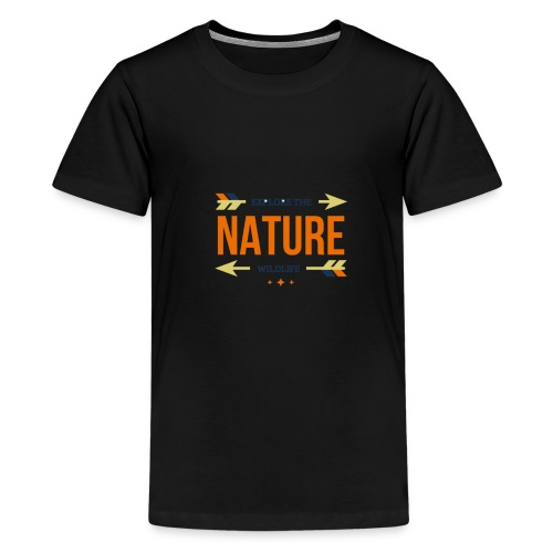 Explore The Wildlife and Nature - Kids' Premium T-Shirt