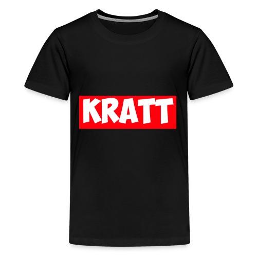 red kratt words - Kids' Premium T-Shirt