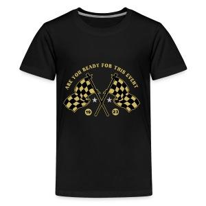 are you ready vintage race - Kids' Premium T-Shirt