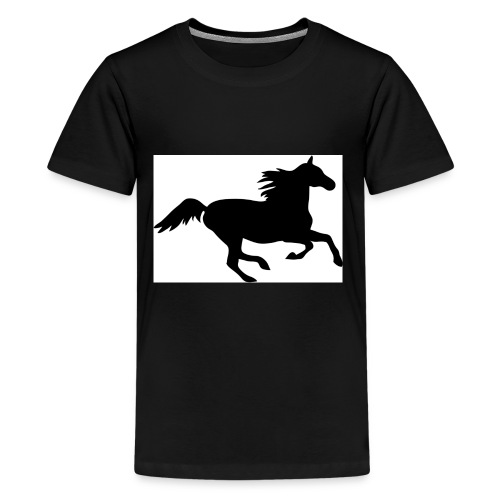 horse drink bottle - Kids' Premium T-Shirt