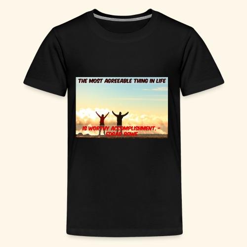 Worthy Accomplishment - Kids' Premium T-Shirt