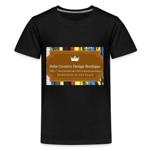 Debs Creative Design Boutique with site - Kids' Premium T-Shirt