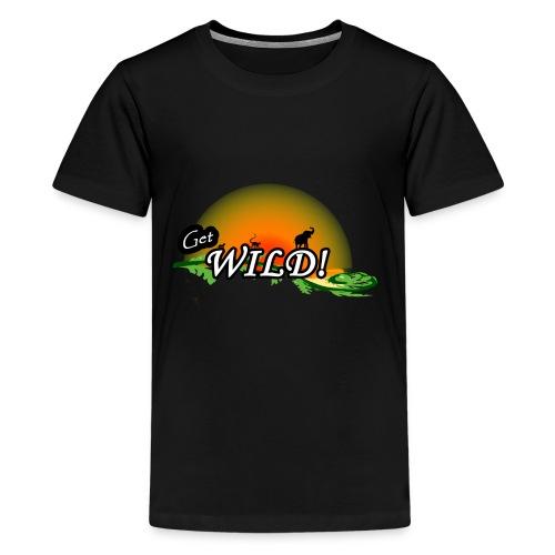Get Wild! - Kids' Premium T-Shirt