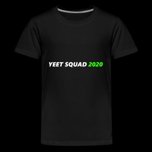 YEET SQUAD (WHITE) - Kids' Premium T-Shirt