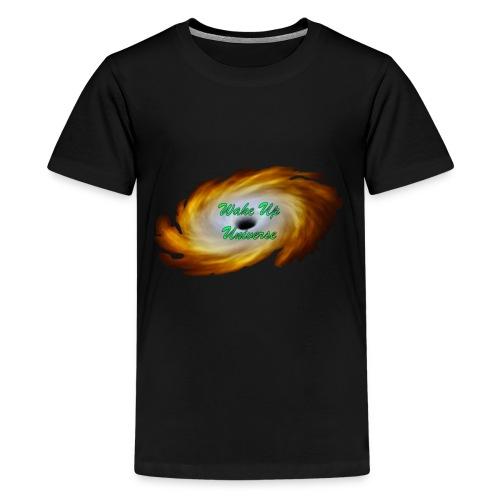 Wake Up Universe Basic Logo - Kids' Premium T-Shirt