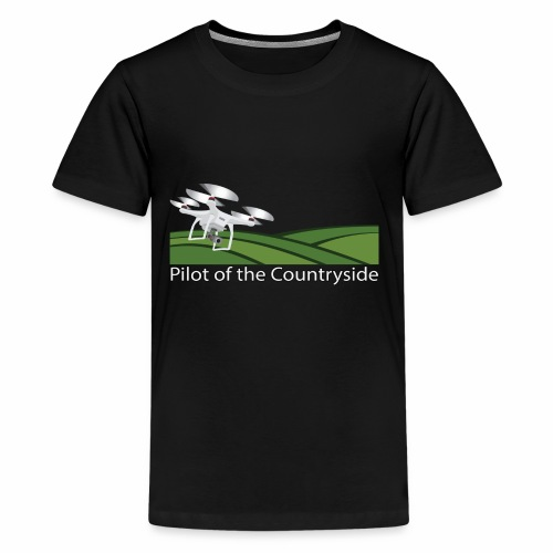 Pilot of the Countryside - Kids' Premium T-Shirt