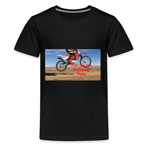 Half the Fun - Kids' Premium T-Shirt