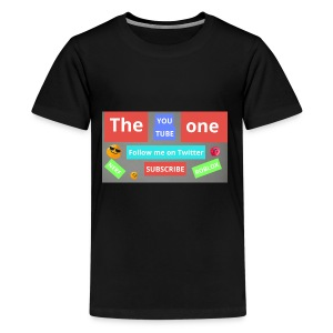 The one subscribe shirt - Kids' Premium T-Shirt