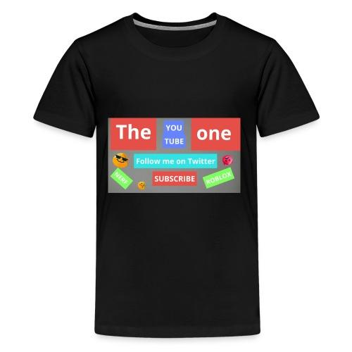 The one subscribe shirt - Kids' Premium T-Shirt