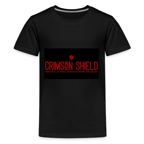 Team Crimson Shield Waterless Car Wash n Wax - Kids' Premium T-Shirt