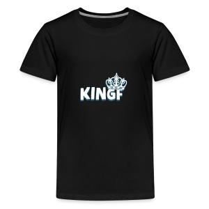 King F - Kids' Premium T-Shirt