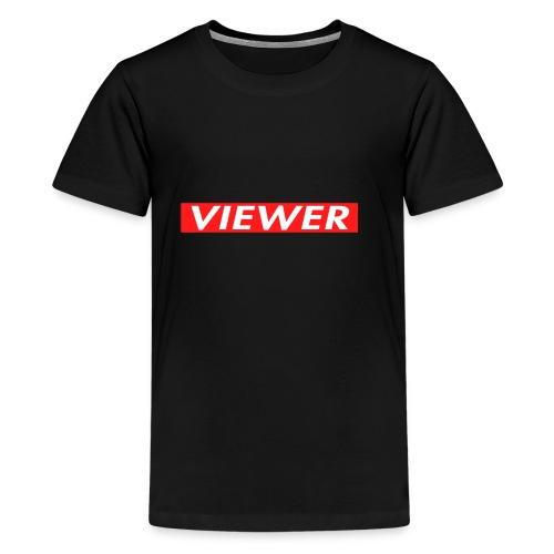 Youtube Supreme Logo - Kids' Premium T-Shirt