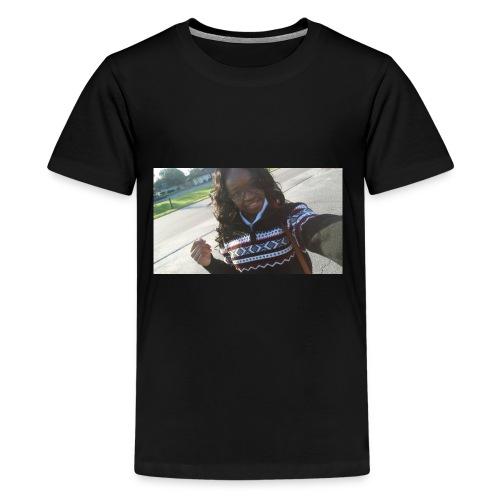 selfie hoodie - Kids' Premium T-Shirt