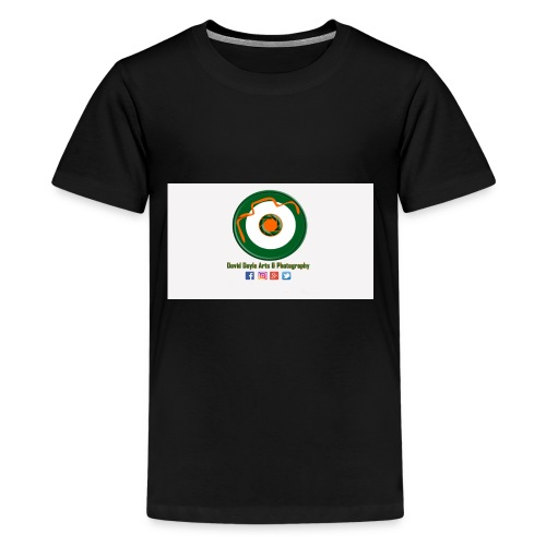 David Doyle Arts & Photography Logo - Kids' Premium T-Shirt