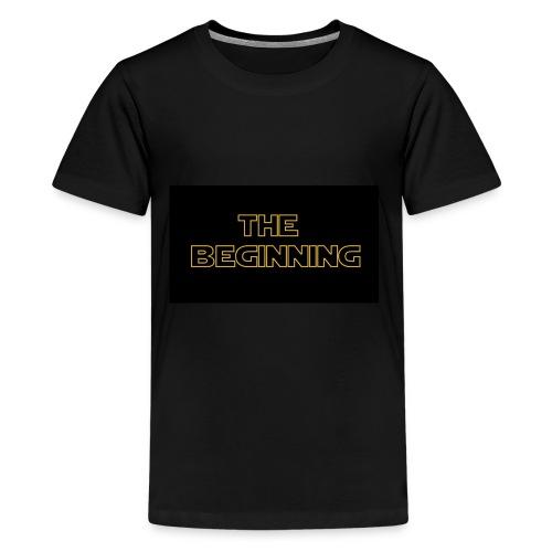 The biginning - Kids' Premium T-Shirt