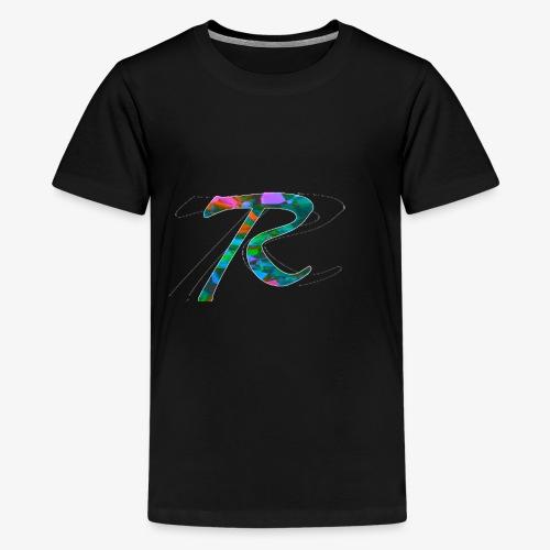 R Hoodie - Kids' Premium T-Shirt