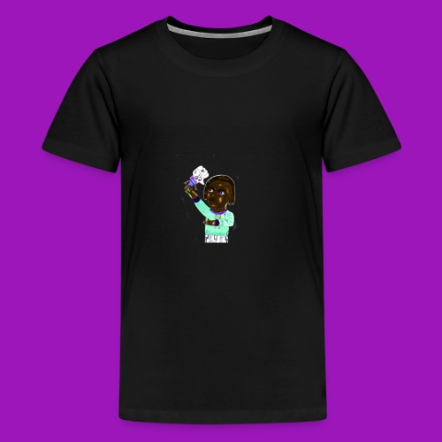 smash that like button - Kids' Premium T-Shirt