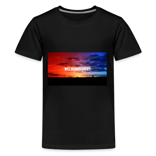channel art youtube will hendry davies - Kids' Premium T-Shirt