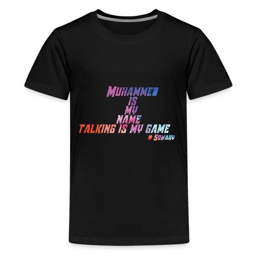 Muhammed is my Name Merch - Kids' Premium T-Shirt