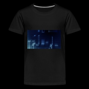 Dark Blue Glow - Kids' Premium T-Shirt