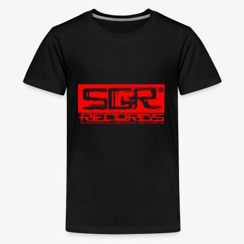 SGR LOGO RED - Kids' Premium T-Shirt
