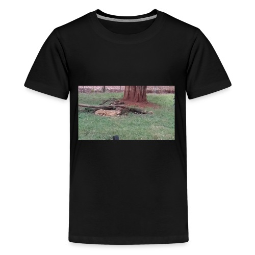 Sleeping cheetah png - Kids' Premium T-Shirt