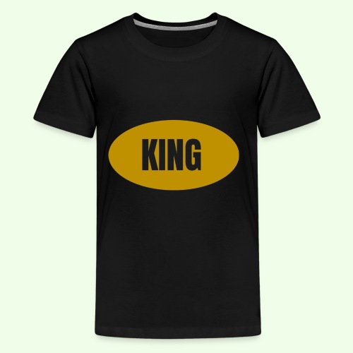 Drake King Design - Kids' Premium T-Shirt