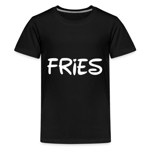 fries with heart - Kids' Premium T-Shirt