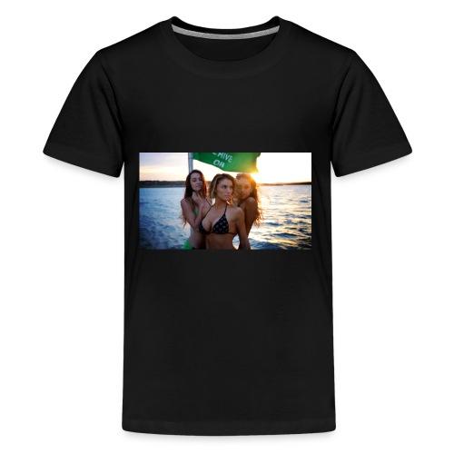 Yacht-hop - Kids' Premium T-Shirt